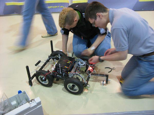 Rostov team is one of the best at ABU Robocon