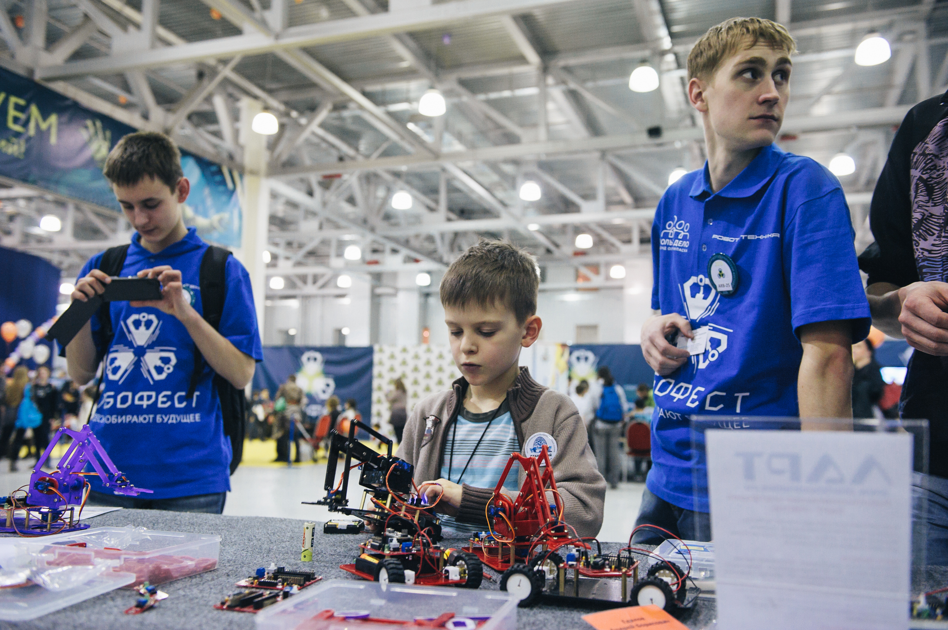 Moscow schoolchildren sweep RoboFest competition
